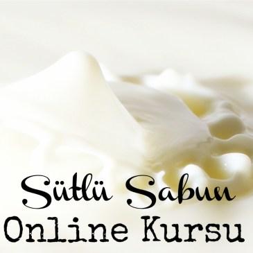 Sütlü Sabun Yapımı Online Kursu