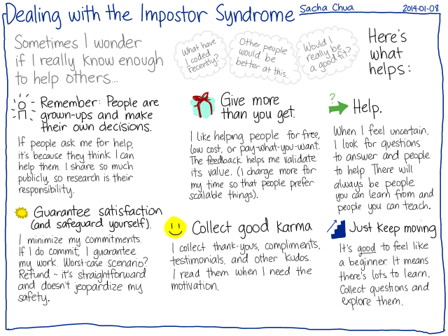 Dealing with impostor syndrome