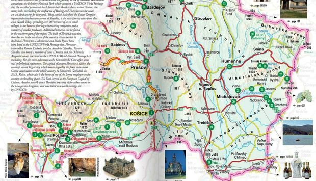 On line Travel guide   Slovakia travel Eastern Slovakia  on line travel guide