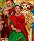 """""""Frida"""", Gustavo Reynoso, oil on canvas, 2010, 30"""" x 48"""""""