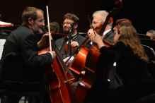 ARC Orchestra rehearsal. Photo Credit: David Taylor