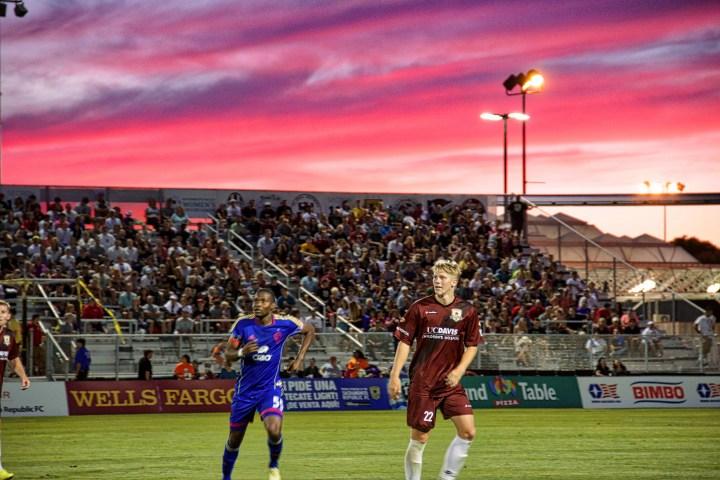 Bonney Field makes its debut, June 20, 2014