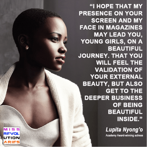 Lupita Nyong'o on beauty | Sacraparental.com