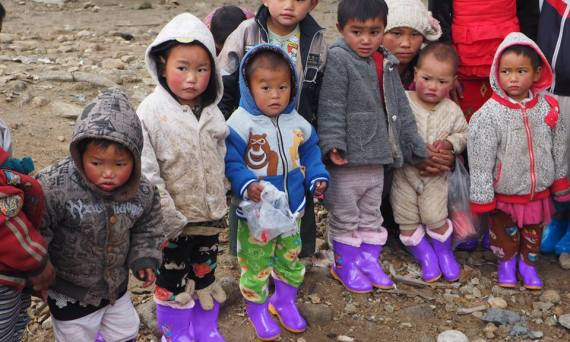 Children from the Kachin ethnic group, living in a camp, had no shoes when it started snowing earlier this year. Partners was pleased to be able to supply these terrific boots for them. Read more about that story on the Partners blog: blog.partners.ngo | Sacraparental.com