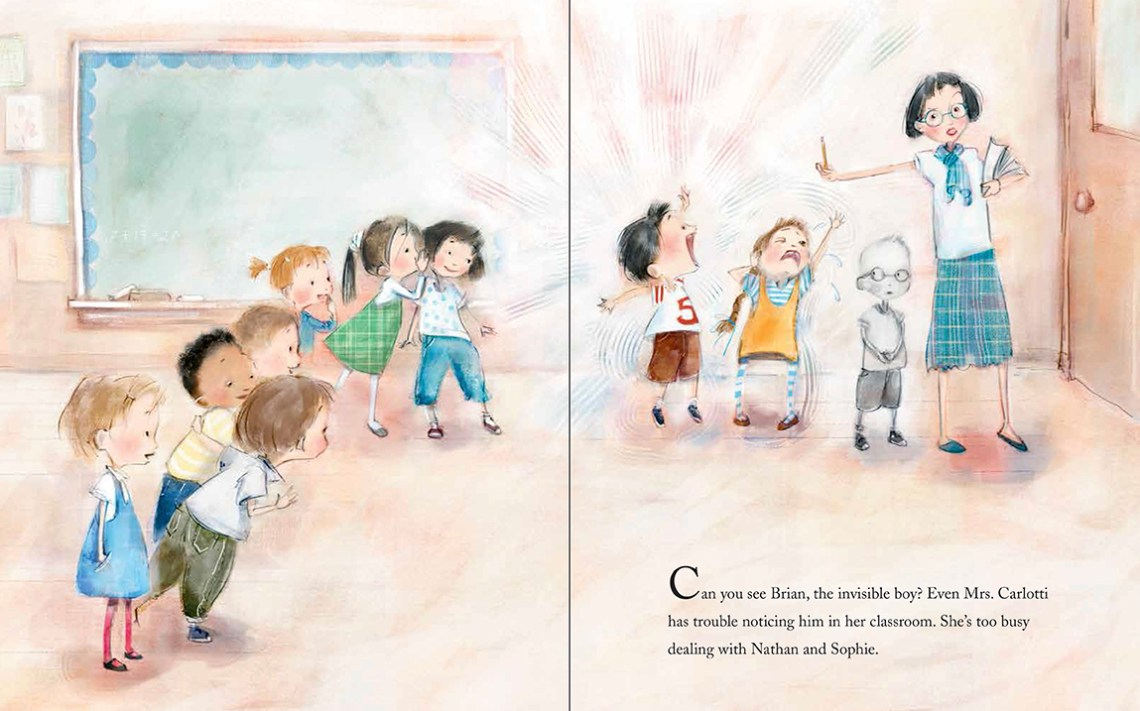 The Invisible Boy | Books for kids who want to change the world | Sacraparental.com