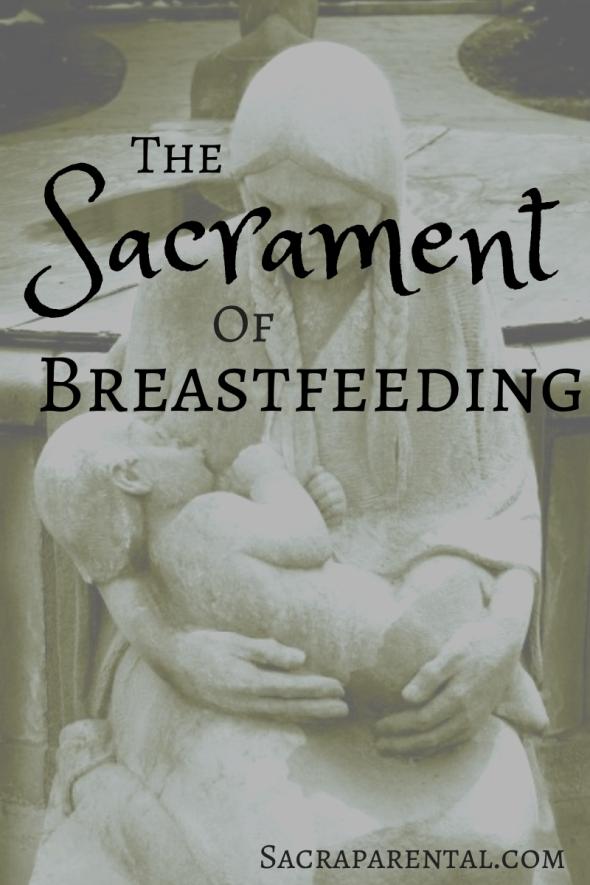 sacredness of breastfeeding, breastfeeding art, encouragement for breastfeeding mothers, Christian parenting, feminist parenting