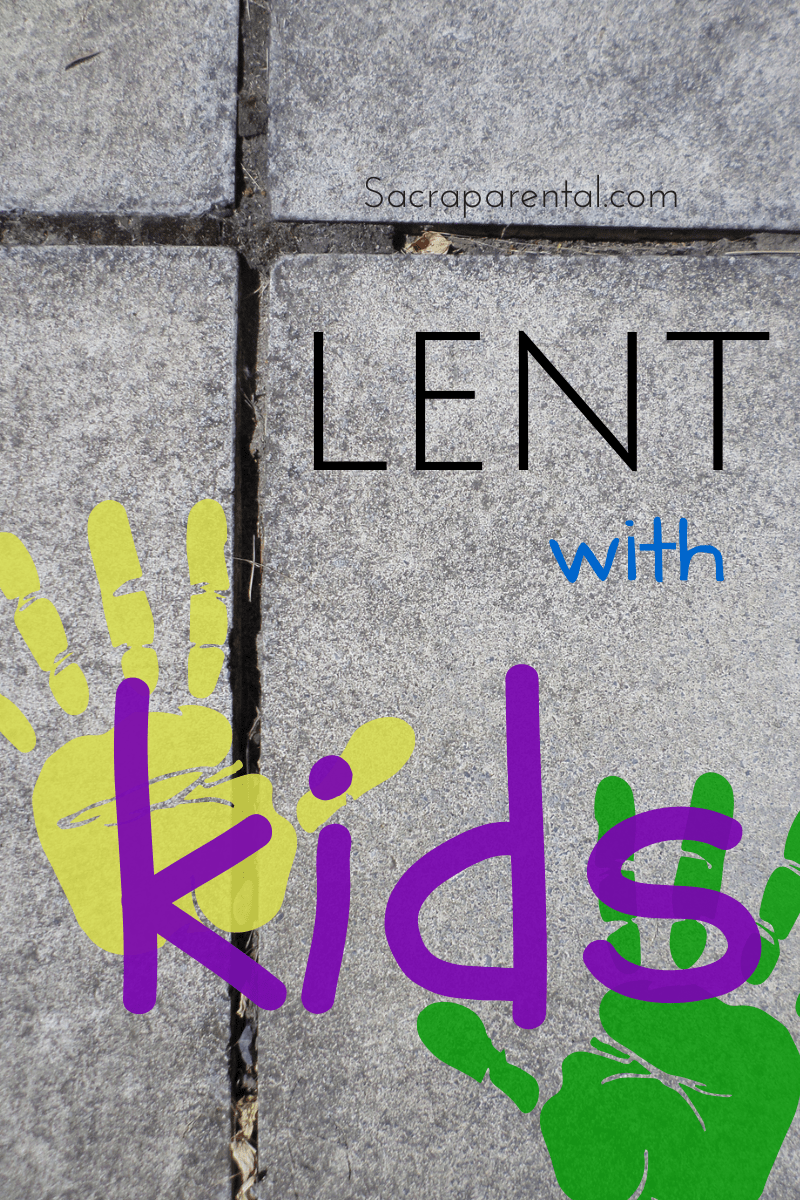 Lent  Kids Calendar