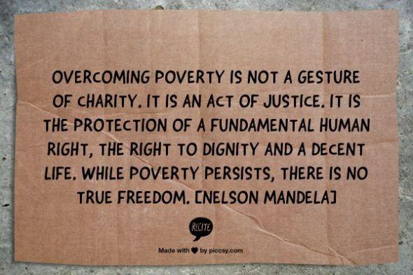 Ideas for tackling child poverty   Sacraparental.com   Nelson Mandela