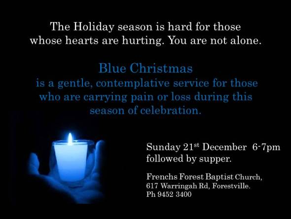 An online Blue Christmas service, for those who are hurting | Sacraparental.com