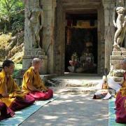 la legende du sacré de Birmanie