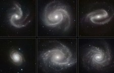 6 Spiral Galaxies Photo: ESO
