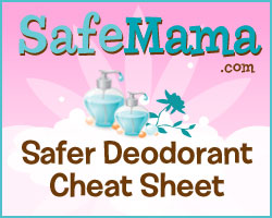 Safer Deodorant