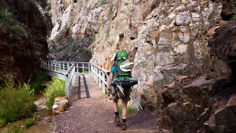 Unterwegs auf dem North Kaibab Trail