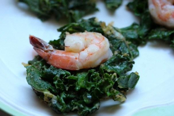 kale shrimp