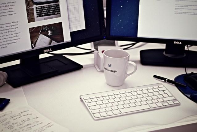Cup mug desk office
