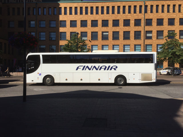 Finnair city bus8