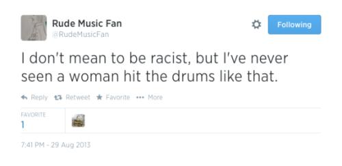 Rude Music Fan - Sage Harringotn