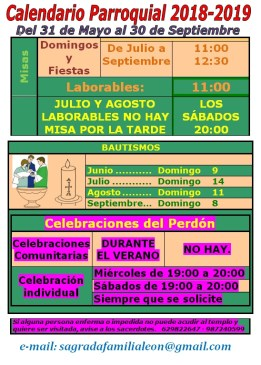 CALENDARIO MAYO SEP 2019 web