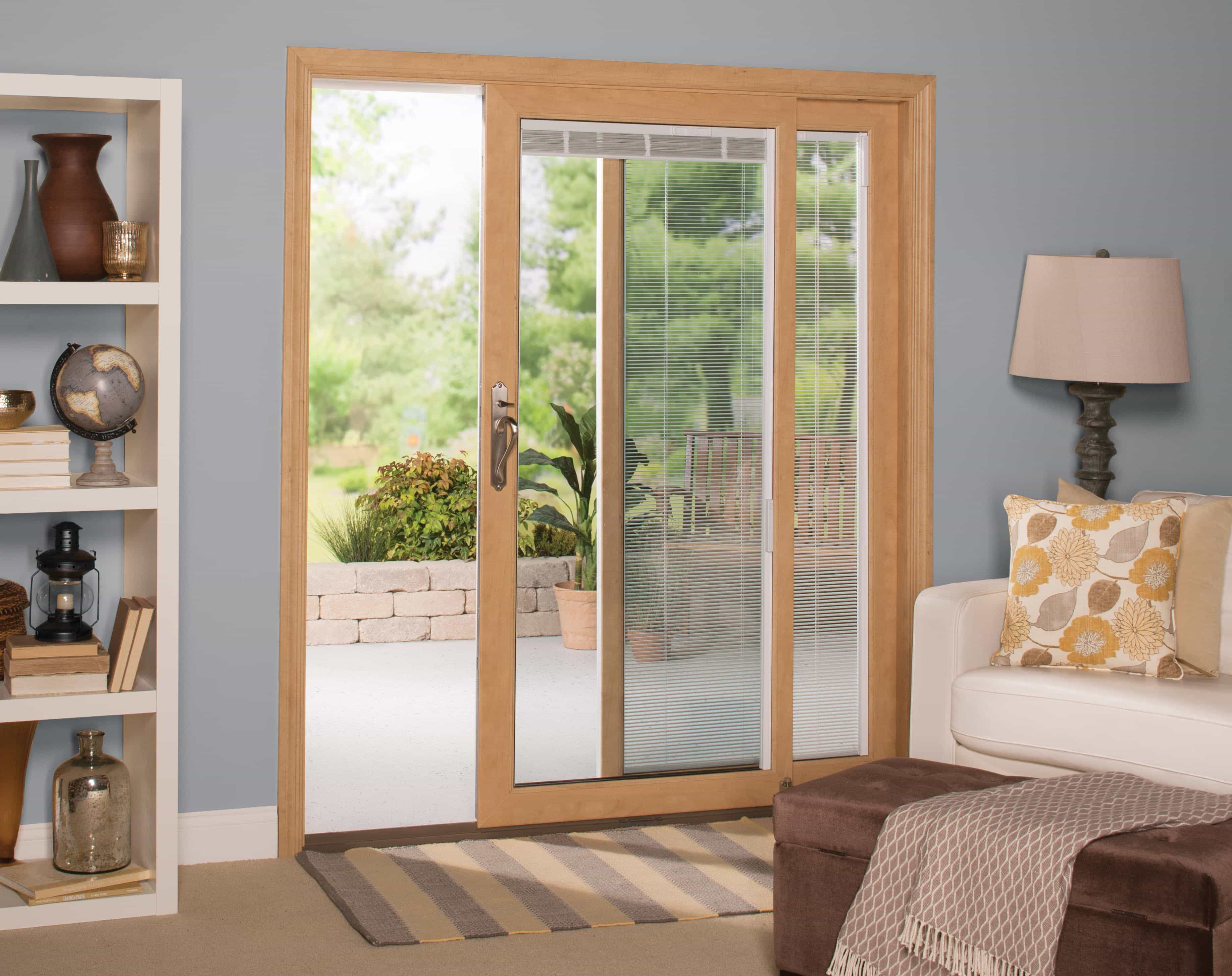 Sunshiny Blinds Onsliding Simplify Your Life Doors Very Common To See Newer Homes Windows Blinds Doors Blinds Are Becoming Quite Windows houzz 01 Windows With Built In Blinds