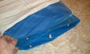 Duffel sail bag step 6