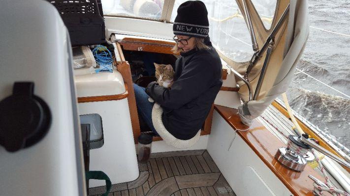Sailing to Adams Creek