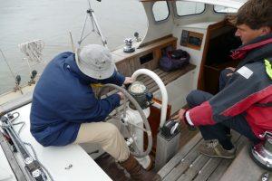 Calibrating compass