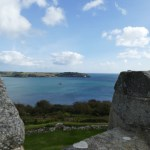 View from Falmouth' Pendennis castle