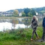 Meeting Polly Higgins in Totnes