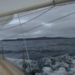 Approaching the Shetlands