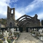 Cambados graveyard