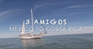 Sailing Mexico to Costa Rica aboard the sailboat Maiatla II. VIDEO