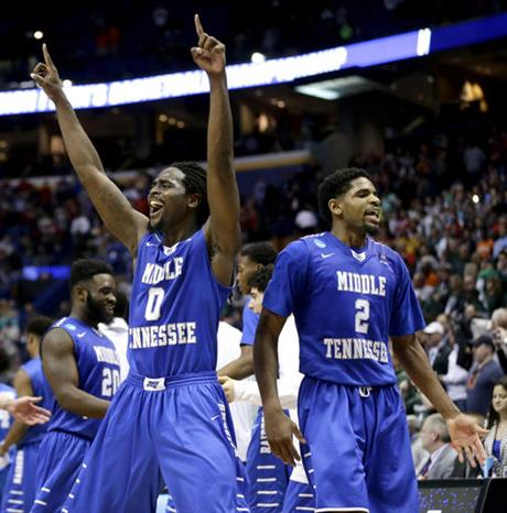 NCAA Basketball Picks Middle Tennessee State Blue Raiders vs. Syracuse Orange