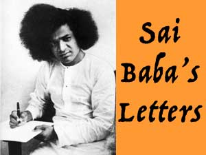 Sai Baba's Letters