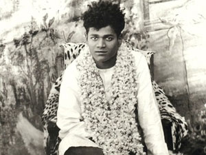 Photo of young Sathya Sai Baba