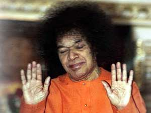 Photo of Sathya Sai Baba