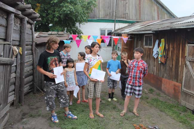 2014.06.13-19 -8Z-Kazakhstan-Summer camp for children and adults of the public-presentation drawings