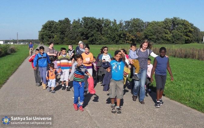 Serving children in Karlsruhe