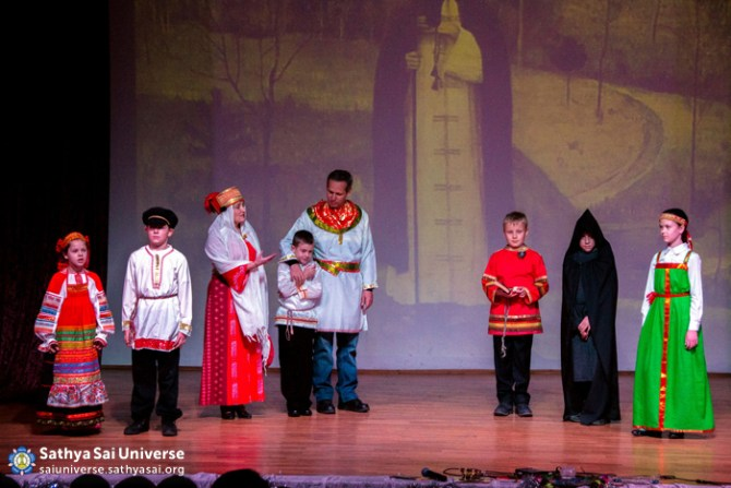 Children's Programme during Birthday Celebrations in Moscow