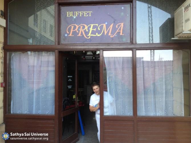Restaurant where the homeless are served