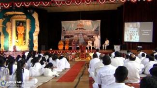 Celebrating Bhagawan's Birthday