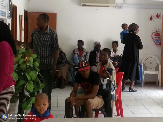 Botswana Waiting room for patients