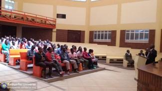Workshop at the Kisaju School auditorium Jan31 a