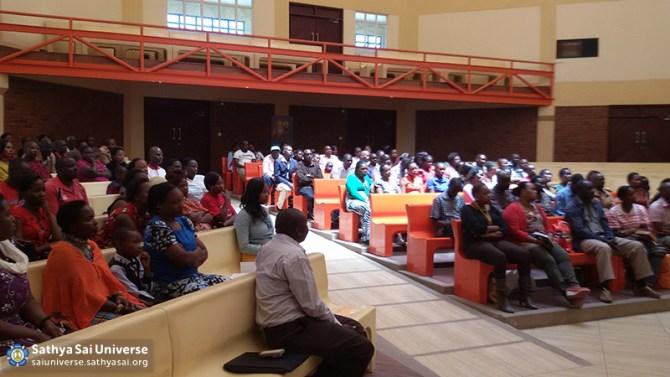 Workshop at the Kisaju School auditorium Jan31 c