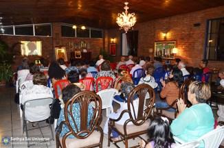 Audience at Mahasamadhi Event