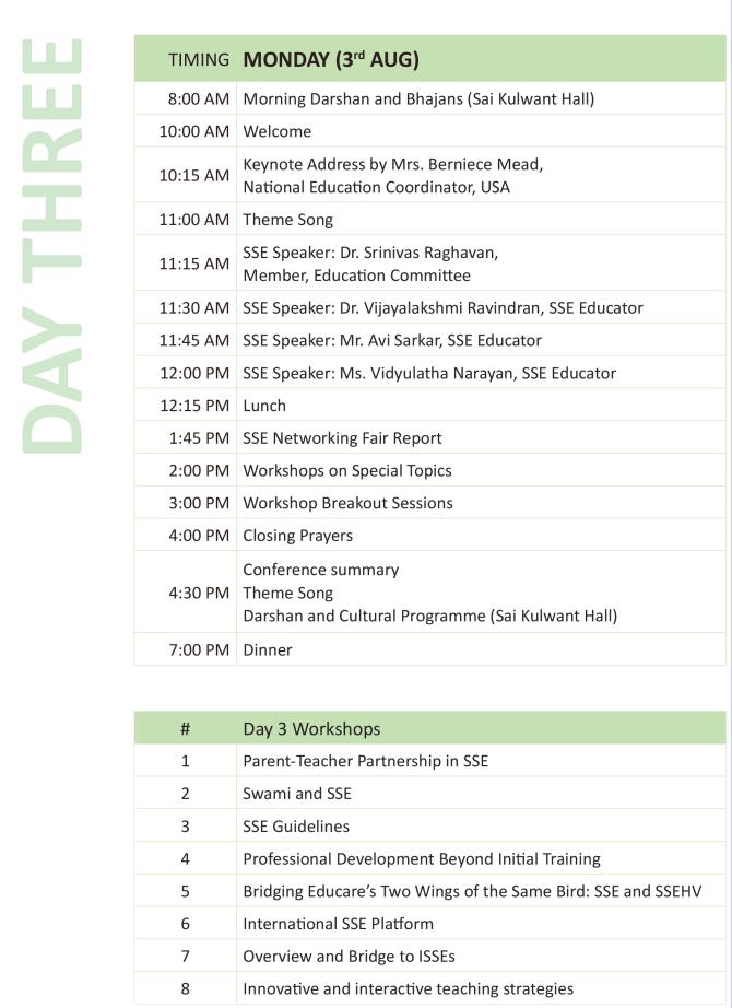 SSEC Schedule-3