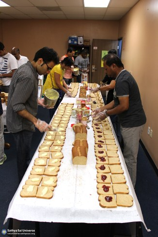 Z1 USA CA Sandwiches for Distribution