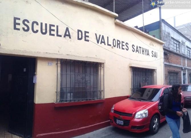 Sathya Sai School of Guatemala, January 2015, Zone 2A copy