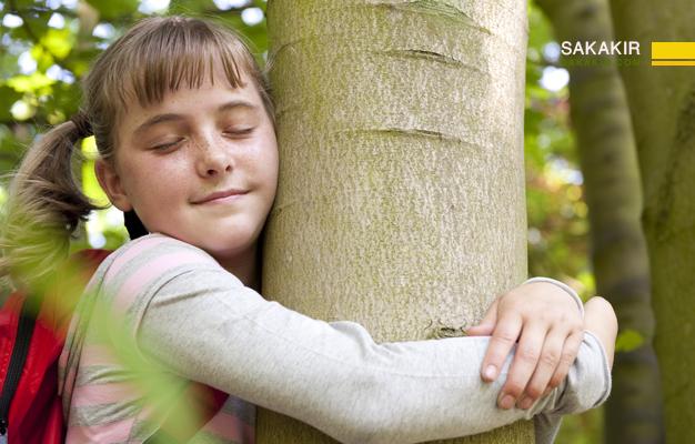احب الشجرة والبيئة