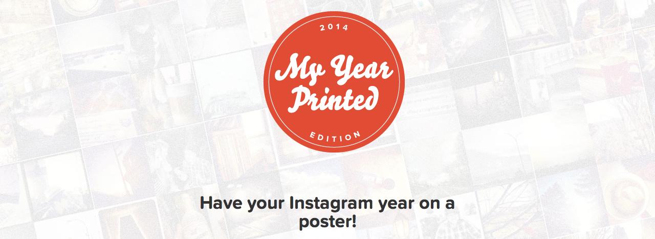 Instagramの写真を1枚のポスターにしよう