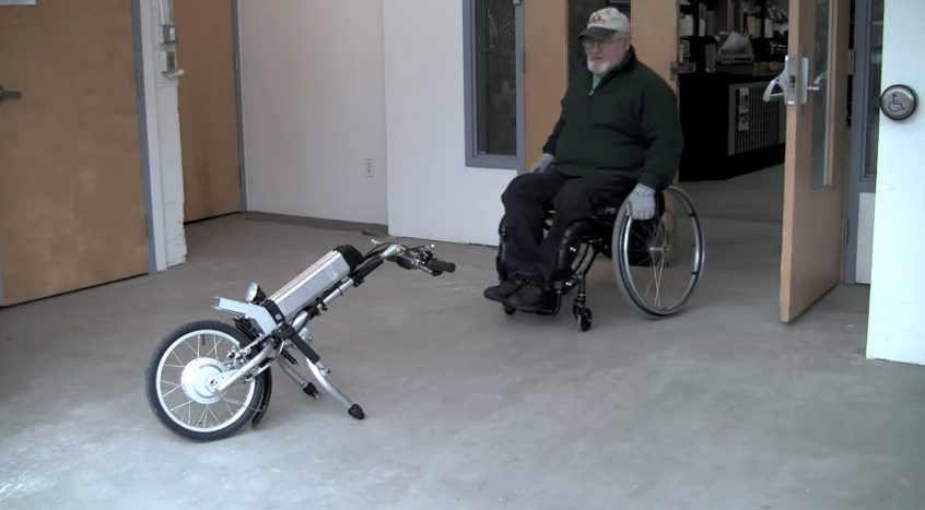 The Firefly Attachable Electric Handcycle by Rio Mobility   YouTube